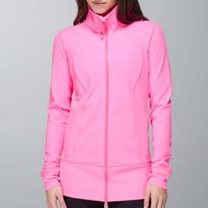 Lululemon Nice Asana Jacket Zing Pink Light